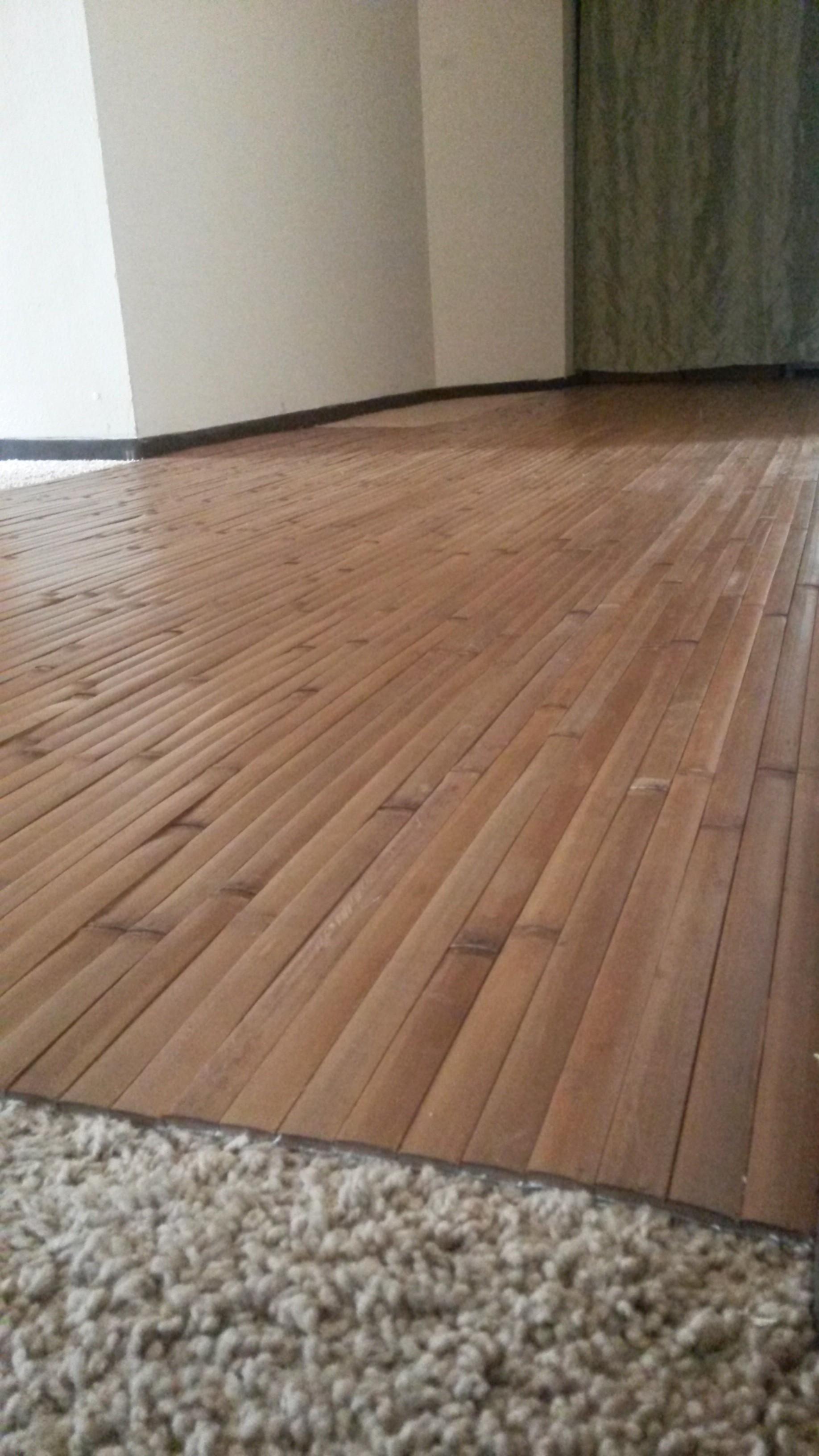 Best Flooring Over Carpet Solution Ever!
