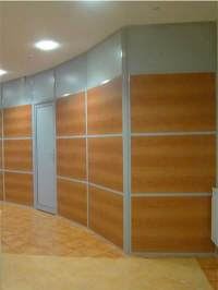 Framed Glass Partitions, Walls | Design, Fabrication ...