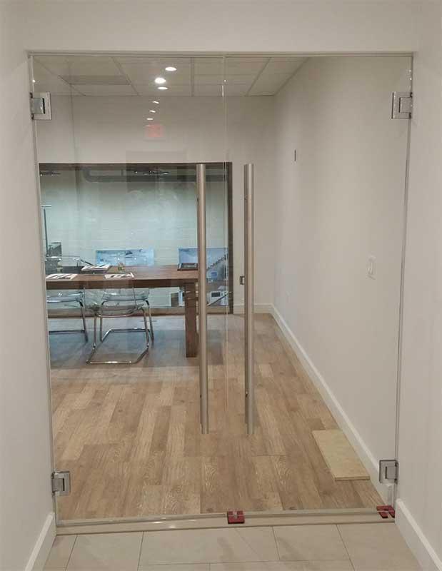 Glass Doors  Commercial  Residential Glass Herculite Doors