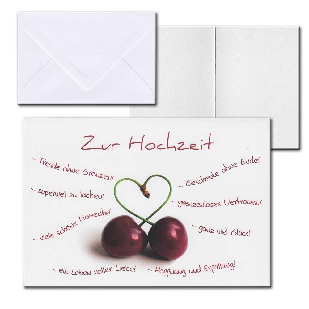 Cartolini Aufklappkarte Karte Sprche Zitate Briefumschlag