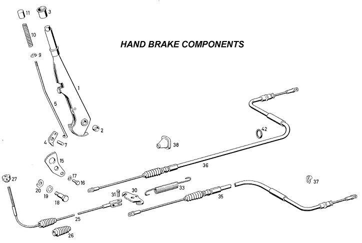 isuzu trooper brake diagram