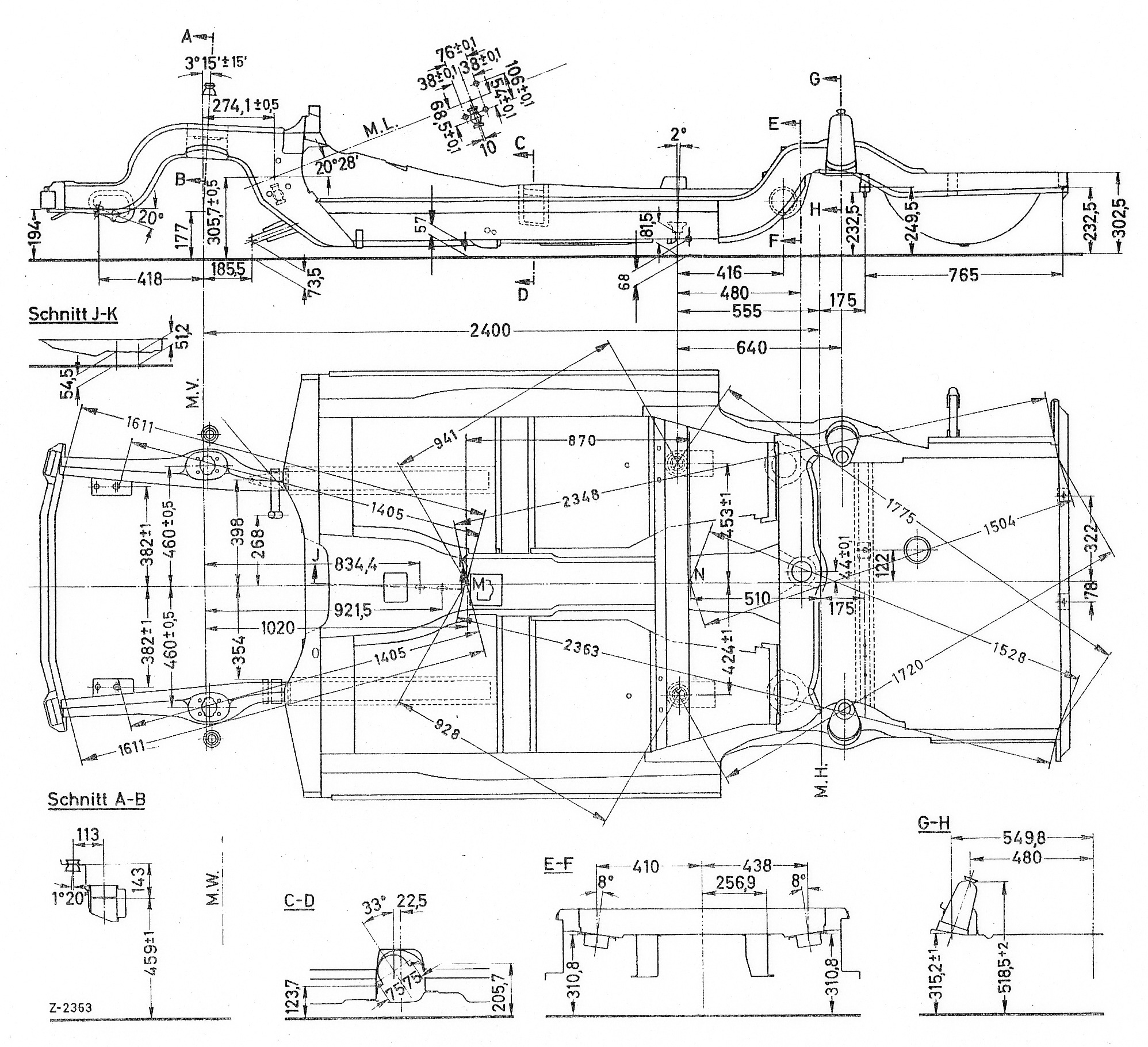 Pagoda SL Group Technical Manual :: ChassisBody / Chassis