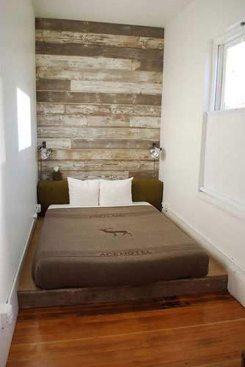 Stoere kleine slaapkamer  Slaapkamer ideen