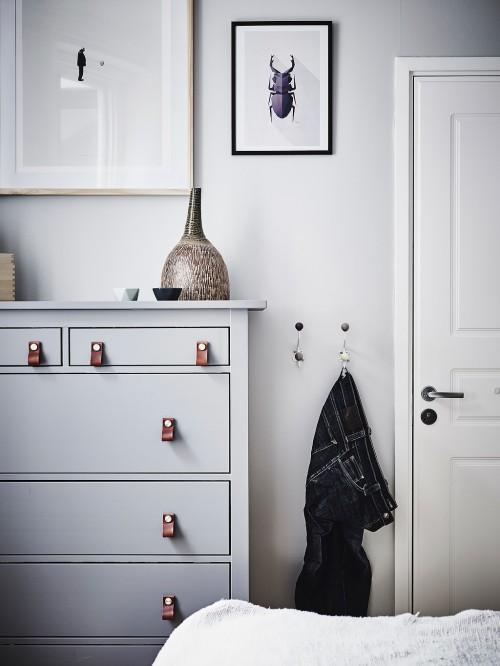 Gepimpte Scandinavische slaapkamer  Slaapkamer ideen