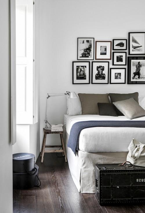 Slaapkamer Met Wit