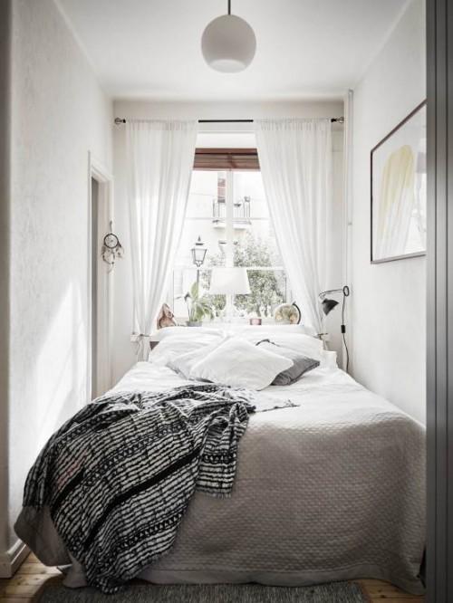 Kleine slaapkamer met kleine kledingkast  Slaapkamer ideen