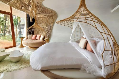 Kunstzinnige slaapkamers van Thai Beach House  Slaapkamer