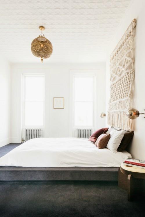 Mooi tapijt in de slaapkamer  Slaapkamer ideen