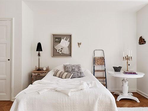 Muurdecoratie achter het bed  Slaapkamer ideen