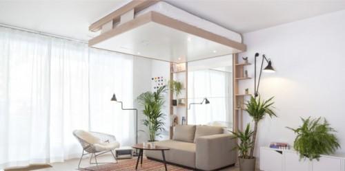Perfecte bed voor klein wonen  Slaapkamer ideen