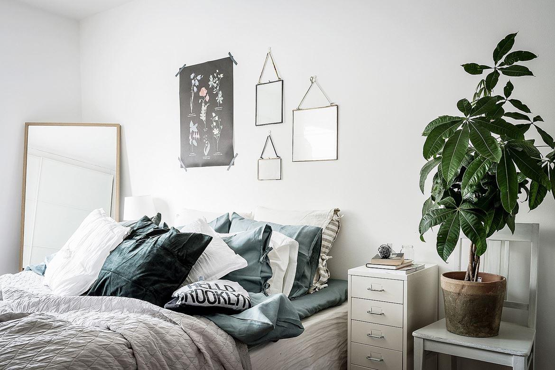 Persoonlijke slaapkamer met leuke decoratie  Slaapkamer