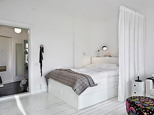 Slaapkamer van 1kamer appartement  Slaapkamer ideen
