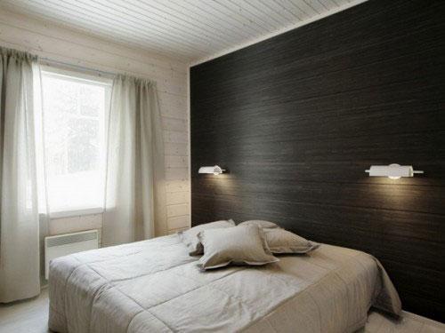 Slaapkamer Behang Hout