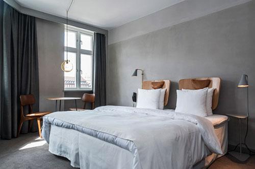 Slaapkamer van Hotel SP34 in Kopenhagen  Slaapkamer ideen