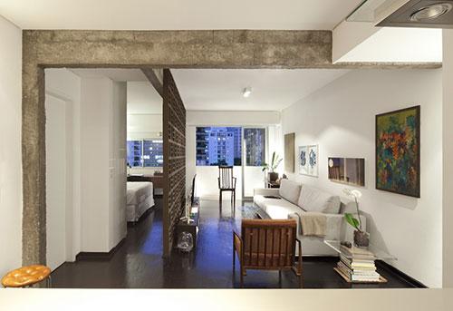 Slaapkamer van kleine loft appartement  Slaapkamer ideen