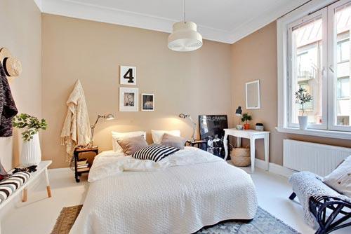 Slaapkamer met leuke decoratie ideen  Slaapkamer ideen