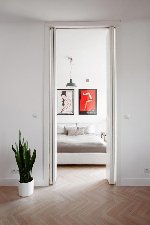Slaapkamer verbouwing met licht  Slaapkamer ideen