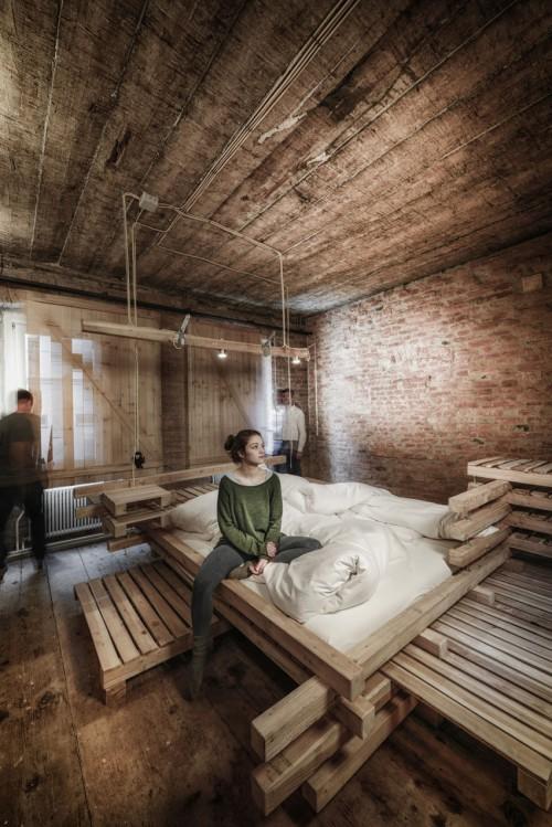 Industrile Slaapkamer  Slaapkamer ideen