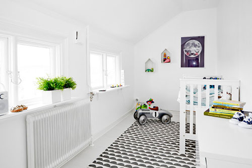Kinderkamer Witte Kinderkamer Met Kleurrijke Decoratie