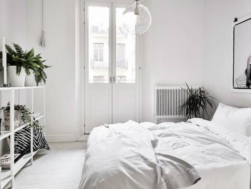 Witte Slaapkamer  Slaapkamer ideen