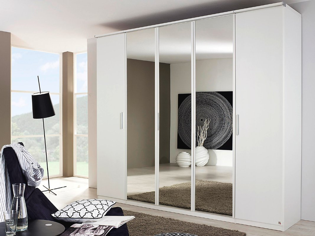 Moderne kledingkast  Draaideurkast Modern  Slaapkamerweb