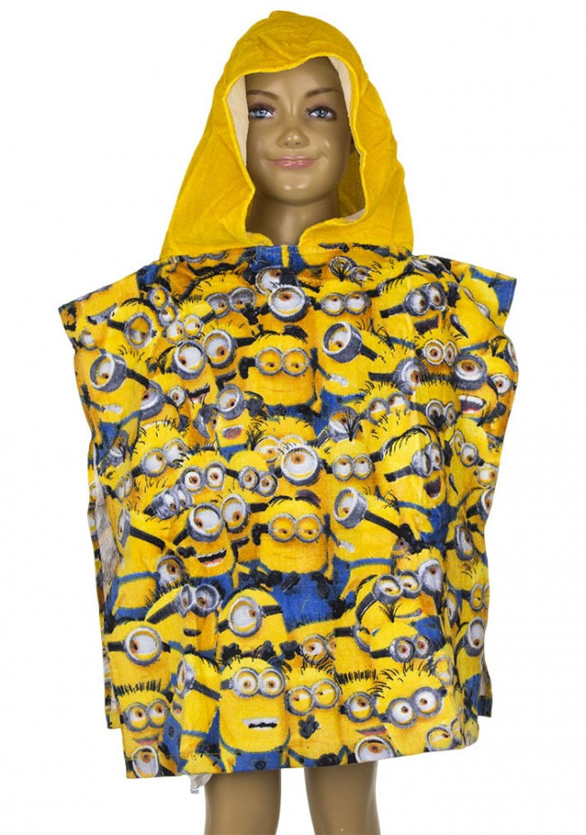 Minions Poncho All Together  Slaaptextielnl