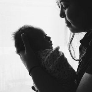 Slaap Zoet slaap bij pasgeboren baby's