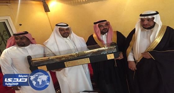 زواج ناصر عليوي العنزي في حفل بهيج