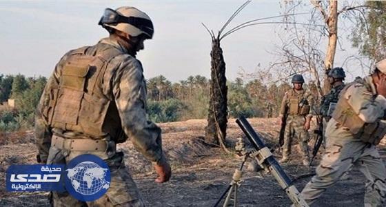 القوات العراقية تتقدم على محور تكريت-كركوك