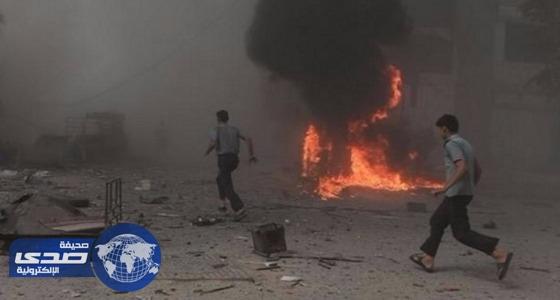"""مقتل 9 مسلحين من """" تحرير الشام """" في إدلب السورية"""