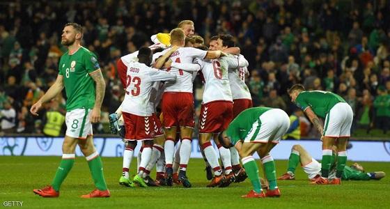 فيديو.. الدنمارك تكتسح إيرلندا بخماسية وتتأهل لمونديال روسيا