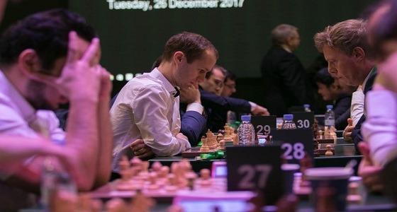 """نتائج اليوم الأول لبطولة الشطرنج – السريع """" رجال """""""
