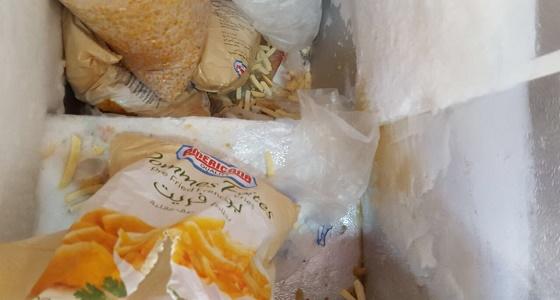 أمانة المدينة تضبط  454 كيلو من المواد الغذائية الفاسدة بالعوالي