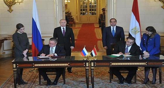 بعد لقائه السيسي.. بوتين: مستعدون لإعادة حركة الطيران مع مصر
