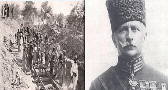 """قصة """" فخري باشا """" الحاكم التركي الذي تفاخر به أردوغان وهجر أبناء المدينة المنورة"""