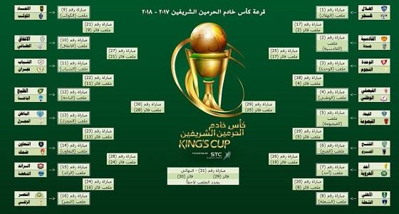 نتائج قرعة كأس خادم الحرمين.. الهلال يفتتح المباريات
