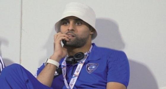 عبد الحكيم القحطاني يبعث برسالة إلى إدارة نادي الهلال