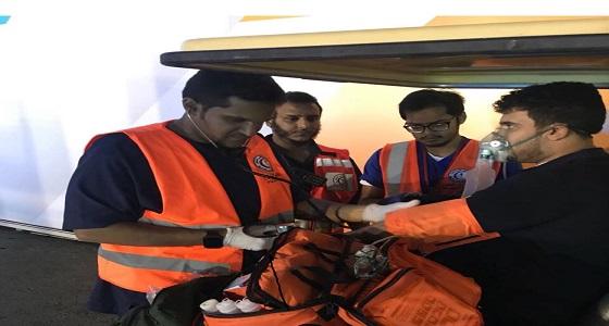 الهلال الأحمر يباشر 30 حالة إسعافية خلال فعاليات معرض جدة الدولي للكتاب 2017