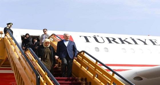 رئيس وزراء تركيا يزور المسجد النبوي