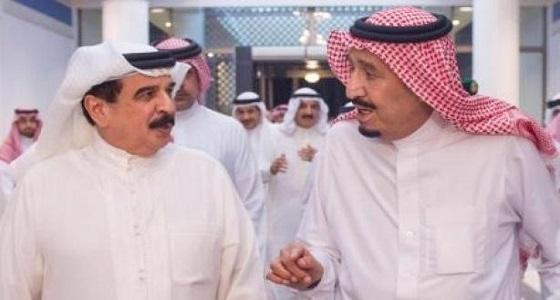 ملك البحرين يهنئ خادم الحرمين بمناسبة ذكرى البيعة الثالثة