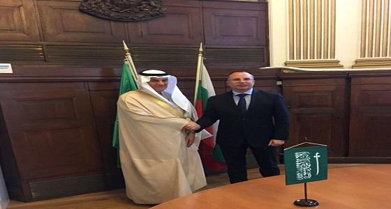 الفضلي يبحث مع وزير الزراعة البلغاري تعزيز التعاون في المجالات المشترك