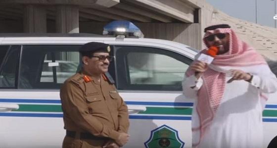 بالفيديو.. أمن الطرق يؤكد على رصده لمخالفات المتهورين مروريًا