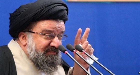 خطيب الجمعة طهران: المحتجون على النظام الإيراني عقوبتهم الإعدام