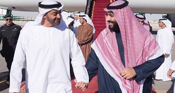 المملكة والإمارات يصفعان قطر وإيران مجددًا.. والشعب يؤكد: المحبة تجمعنا