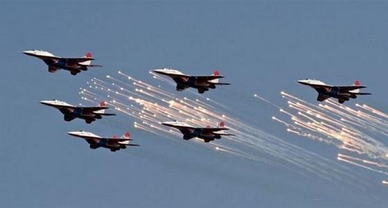 طيران التحالف يستهدف مستودعات لأسلحة مليشيا الحوثي بالحديدة