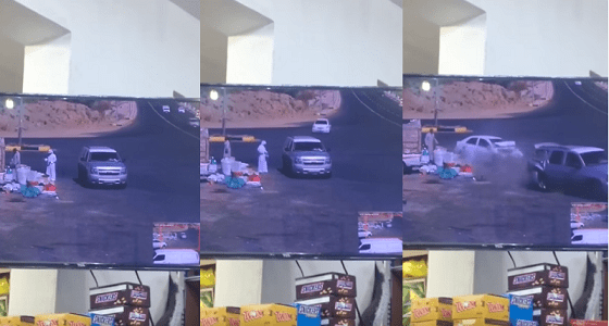بالفيديو.. العناية الإلهية تنقذ مواطن وبائع خضار من حادث دهس بأعجوبة