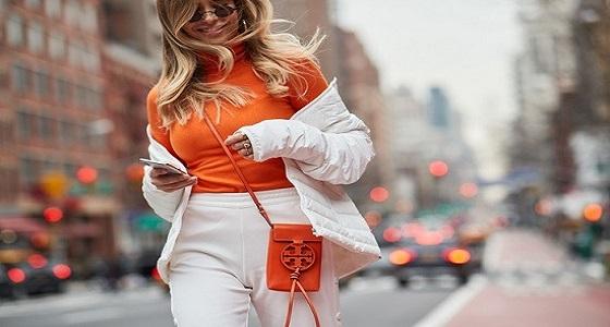 بالصور..حقائب بأشكال جديدة تسيطر على عروض أسبوع الموضة