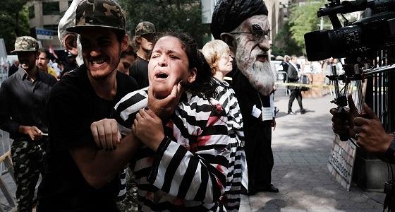 الأجهزة الأمنية تفرق مظاهرة مناهضة للنظام الإيراني