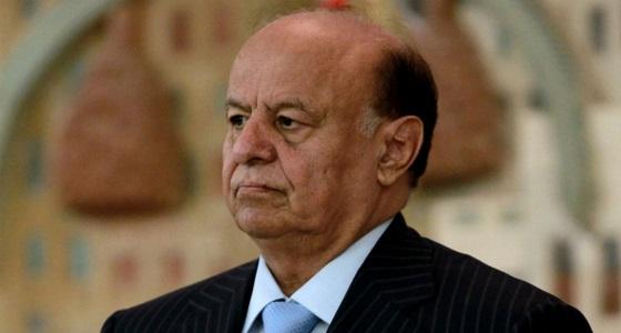الرئيس اليمني يشيد بدور المملكة في قيادة عاصفة الحزم التي تصدت لإيران