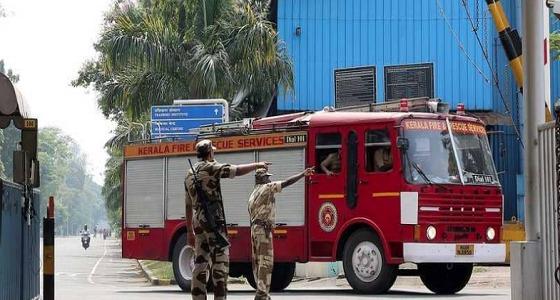 مقتل وإصابة 16 شخصا في انفجار سفينة هندية